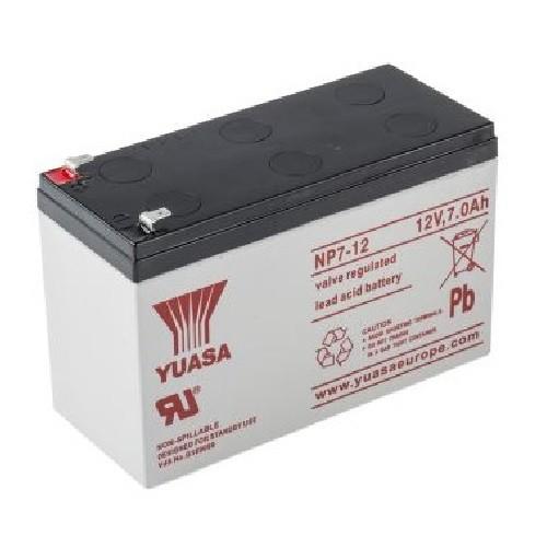 Batterie YUASA NP7-12 - 12Volts 7Ah
