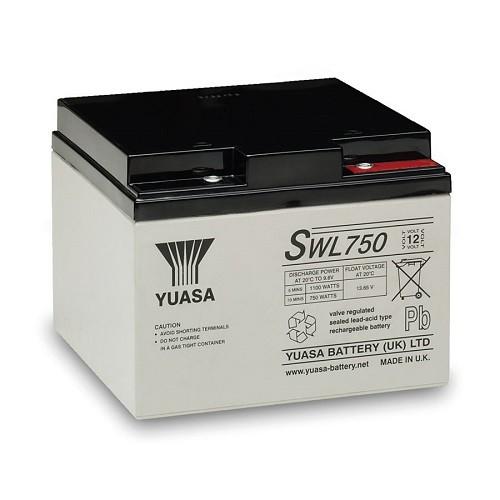 Batterie YUASA SWL750 - 12v 24,4Ah (en rupture)