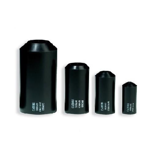 Capuchon d'extrémité thermorétractable 16-27 mm tarif pour 10 unités