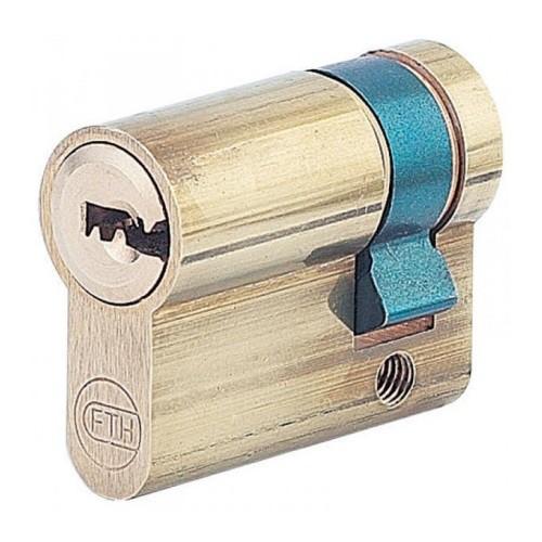 Demi-Cylindre PAR boîte à clé en applique + 2 clés