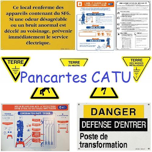 KIT AFFICHAGE Réglementaire Catu AM802/1 Conseillé