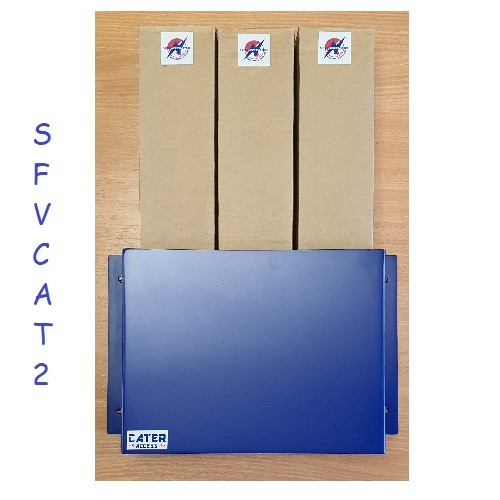 SFVCAT2 - Râtelier Fusible HT position vertical DIN