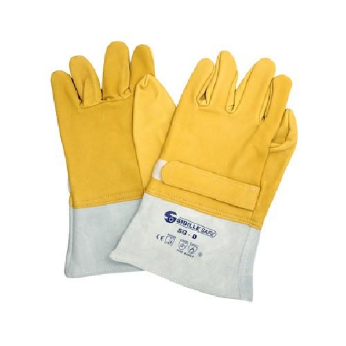 SGA Sur gants Cuir pour travaux électrique TST