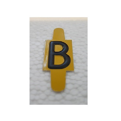 Vignette lettre B pour Pancarte Enédis