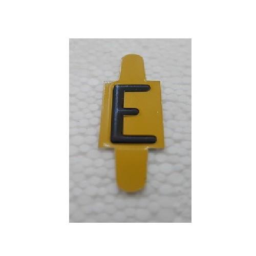 Vignette lettre E pour Pancarte Enédis