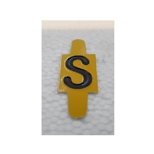 Vignette lettre S pour Pancarte Enédis