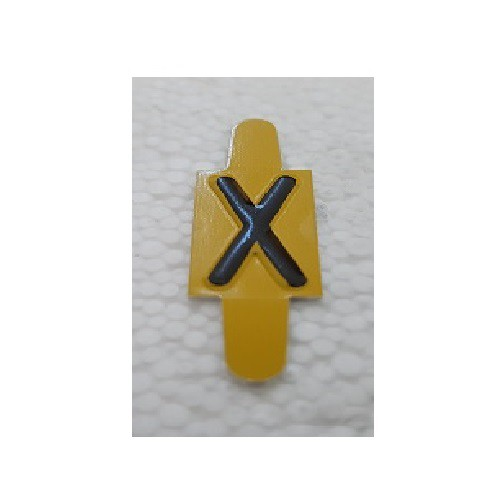Vignette lettre X pour Pancarte Enédis