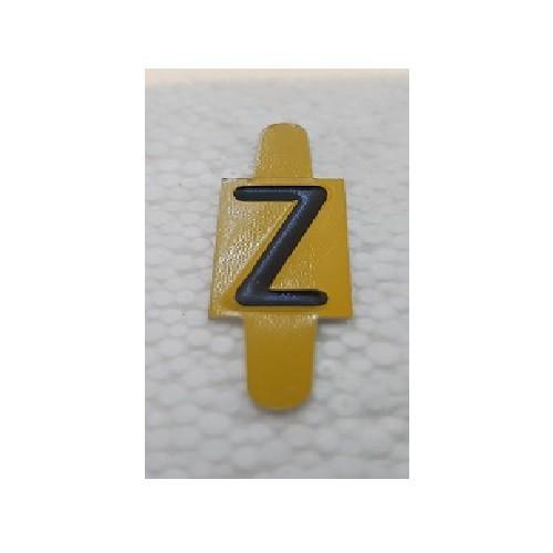 Vignette lettre Z pour Pancarte Enédis
